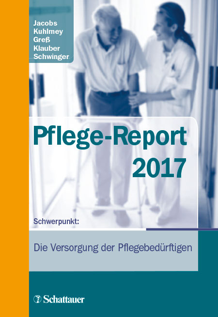 Cover der WIdO-Publikation Pflege-Report 2017